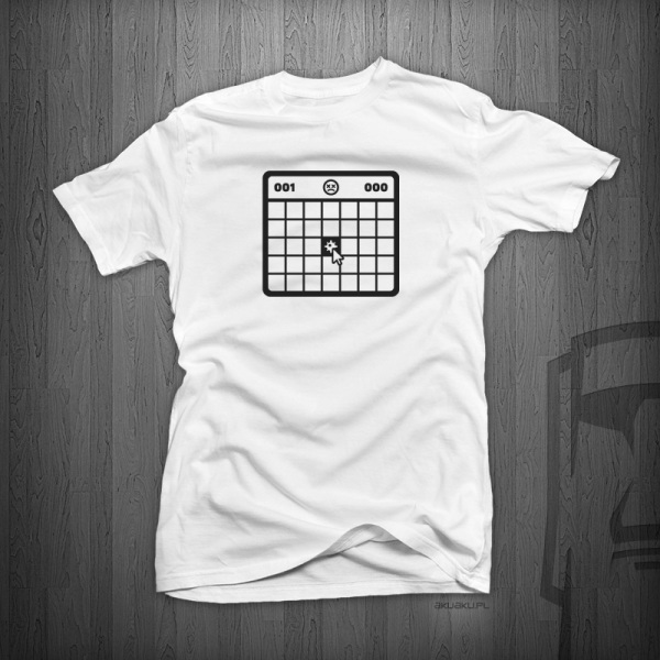K051 MINESWEEPER MESKA WHITE BLACK